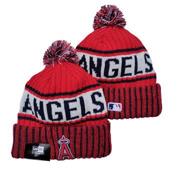 2021 Baseball Los Angeles Angels Knit Hats 011