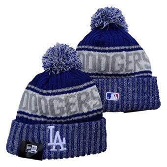 2021 Baseball Los Angeles Dodgers Knit Hats 043