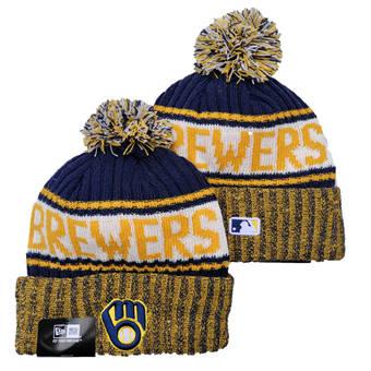 2021 Baseball Milwaukee Brewers Knit Hats 007