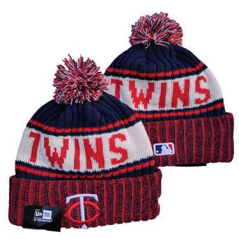 2021 Baseball Minnesota Twins Knit Hats 006