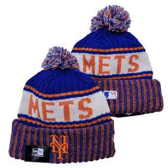 2021 Baseball New York Mets Knit Hats 021