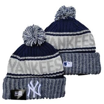 2021 Baseball New York Yankees Knit Hats 079