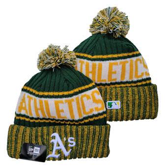 2021 Baseball Oakland Athletics Knit Hats 011