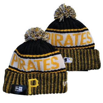 2021 Baseball Pittsburgh Pirates Knit Hats 022