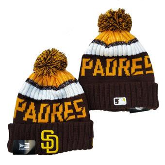 2021 Baseball San Diego Padres Knit Hats 004