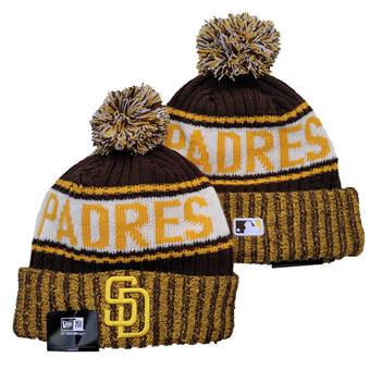 2021 Baseball San Diego Padres Knit Hats 005