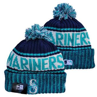 2021 Baseball Seattle Mariners Knit Hats 003