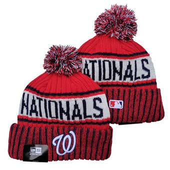 2021 Baseball Washington Nationals Knit Hats 008