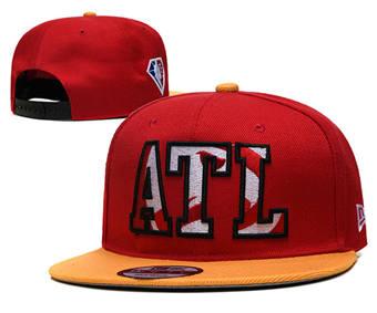 2021 Basketball Atlanta Hawks Stitched Snapback Hats 004