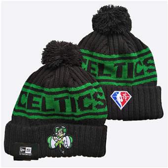 2021 Basketball Boston Celtics Knit Hats 015