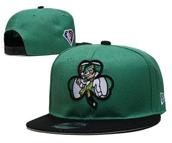 2021 Basketball Boston Celtics Stitched Snapback Hats 014