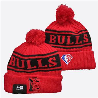 2021 Basketball Chicago Bulls Knit Hats 035