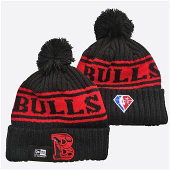 2021 Basketball Chicago Bulls Knit Hats 036