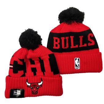 2021 Basketball Chicago Bulls Knit Hats 038