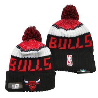 2021 Basketball Chicago Bulls Knit Hats 039