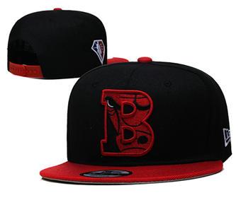 2021 Basketball Chicago Bulls Stitched Snapback Hats 034
