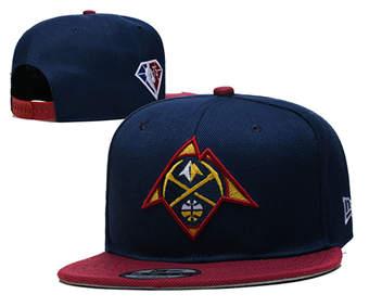 2021 Basketball Denver Nuggets Stitched Snapback Hats 001
