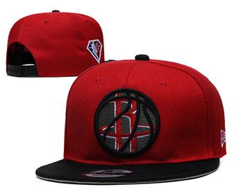2021 Basketball Houston Rockets Stitched Snapback Hats 001