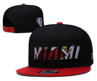 2021 Basketball Miami Heat Stitched Snapback Hats 018