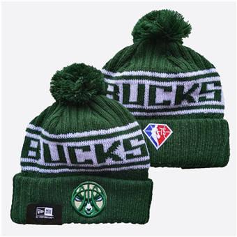 2021 Basketball Milwaukee Bucks Knit Hats 007