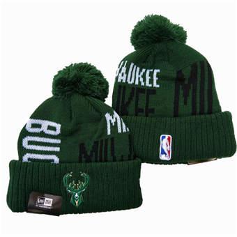 2021 Basketball Milwaukee Bucks Knit Hats 008