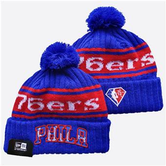 2021 Basketball Philadelphia 76ers Knit Hats 011