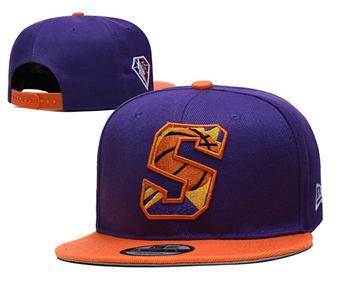 2021 Basketball Phoenix Suns Stitched Snapback Hats 038
