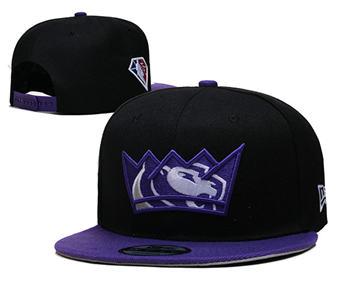 2021 Basketball Sacramento Kings Stitched Snapback Hats 001