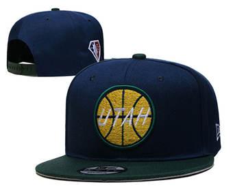 2021 Basketball Utah Jazz Stitched Snapback Hats 004
