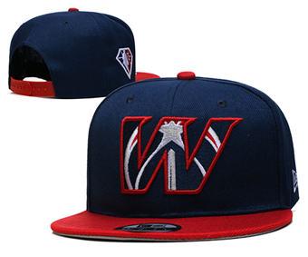 2021 Basketball Washington Wizards Stitched Snapback Hats 005