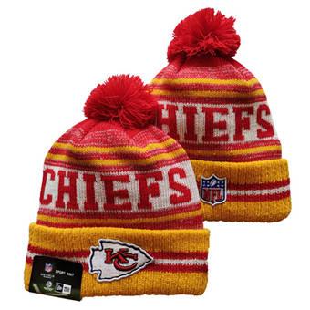 2021 Football Kansas City Chiefs Knit Hats 056