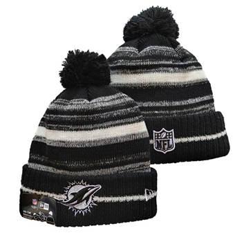 2021 Football Miami Dolphins Knit Hats 047