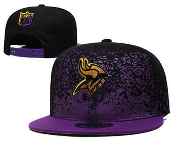2021 Football Minnesota Vikings Stitched Snapback Hats 042