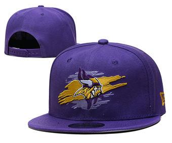 2021 Football Minnesota Vikings Stitched Snapback Hats 043