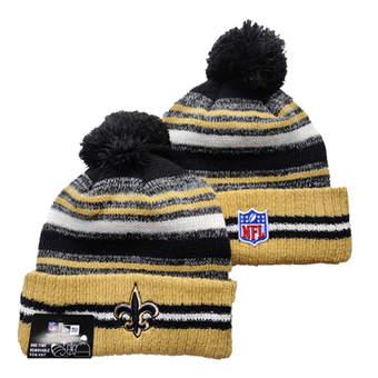 2021 Football New Orleans Saints Knit Hats 049