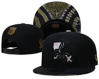 2021 Football New Orleans Saints Stitched Snapback Hats 046