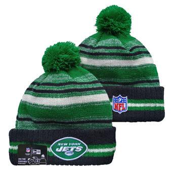 2021 Football New York Jets Knit Hats 024