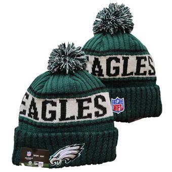 2021 Football Philadelphia Eagles Knit Hats 059