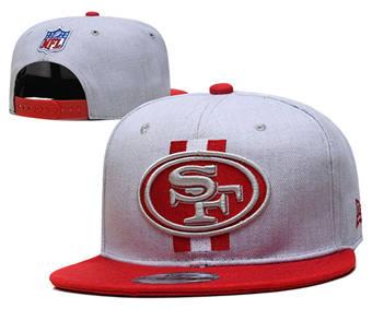 2021 Football San Francisco 49ers Stitched Snapback Hats 092