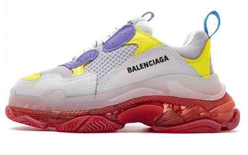 541624 W09OH 8081 Balenciaga Sneaker TessS.Gomma Purple Yellow