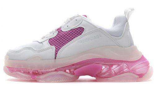 544351 W09ON 9028 Balenciaga Sneaker TessS.Gomma White Pink