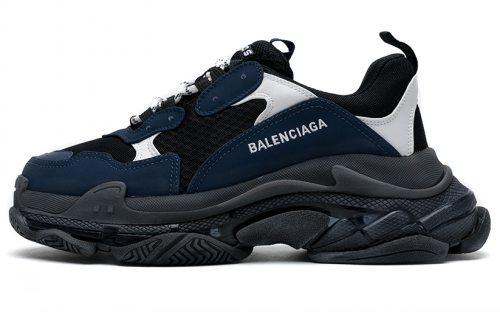 544351 W09ON 9098 Balenciaga Sneaker TessS.Gomma Blue White Black