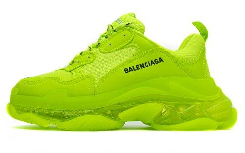 544351 W2FF1 7320 Balenciaga Sneaker TessS.Gomma Fluorescent Yellow