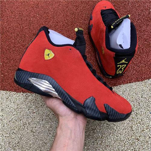Air Jordan 14 Ferrari AJ14 654459-670