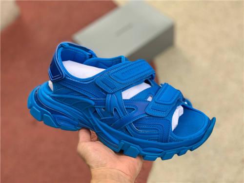 Balenciaga Sandal Screen Blue