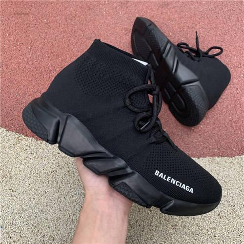 Balenciaga Speed Texture Knit Black