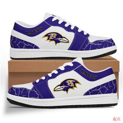 Baltimore Ravens 2020 Football Team Logo Sneakers