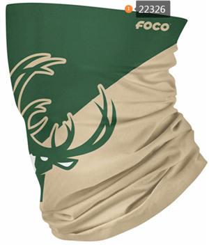 Basketball Team Logo Neck Gaiter Face Covering (22326)