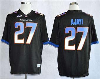 Boise State Broncos #27 Jay Ajayi Black Stitched NCAA Jersey
