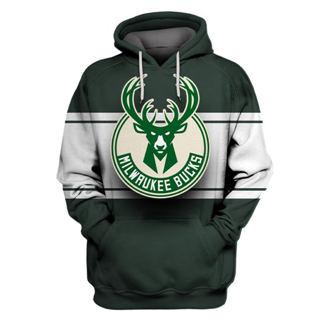 Bucks Green All Stitched Hooded Sweatshirt